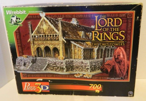 Lord of the Rings Hall of Endoras Puzz 3D Puzzle
