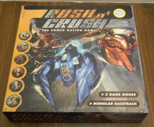 Rush n' Crush Board Game Thrift Store Haul July 5