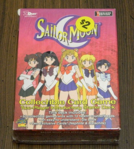 Sailor Moon Collectible Card Game Thrift Store Haul July 5