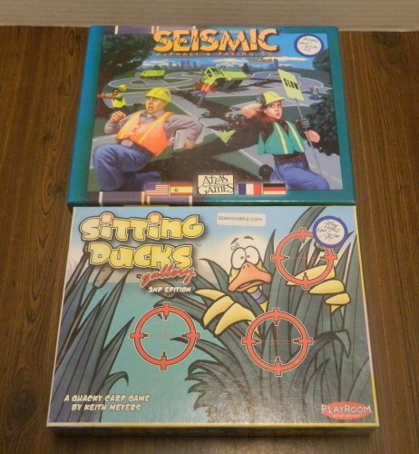 Seismic and Sitting Ducks Thrift Store Haul July 5