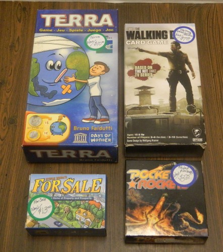 Small Board and Card Games 2 Thrift Store Haul July 5
