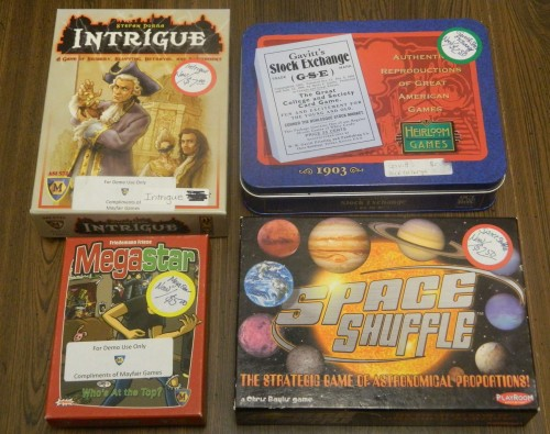 Small Board and Card Games Thrift Store Haul July 5