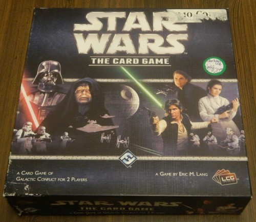 Star Wars The Card Game Thrift Store Haul July 5