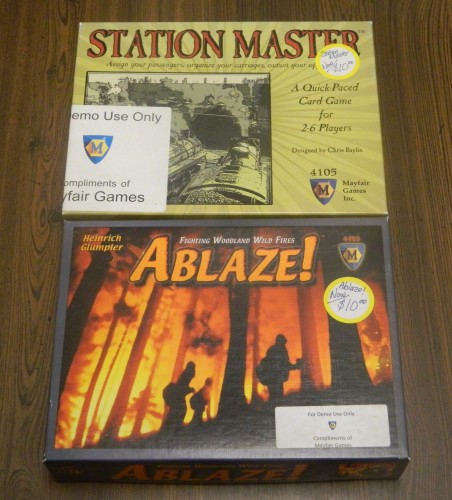 Station Master and Ablaze Thrift Store Haul July 5
