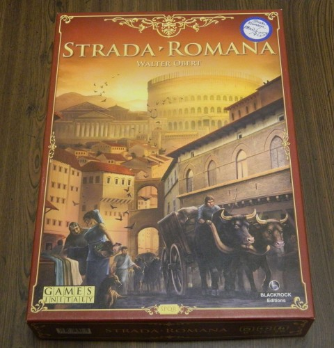 Strada-Romana Board Game Thrift Store Haul July 5