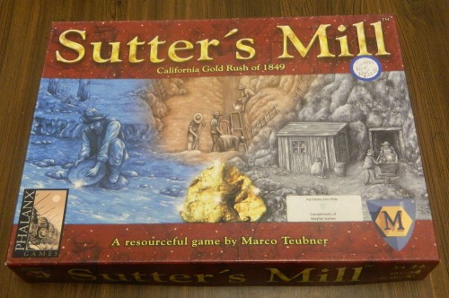 Sutter's Mill Board Game Thrift Store Haul July 5