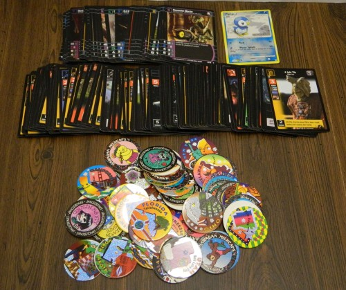 TCG Cards and Pogs Thrift Store Haul July 5