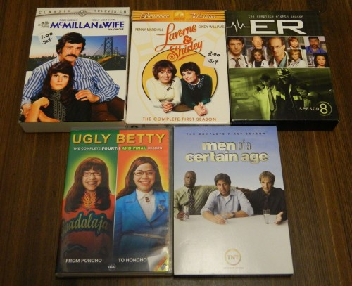 TV on DVD Thrift Store Haul July 5