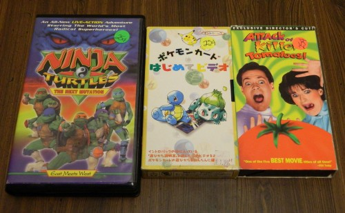 VHS Tapes Thrift Store Haul July 5
