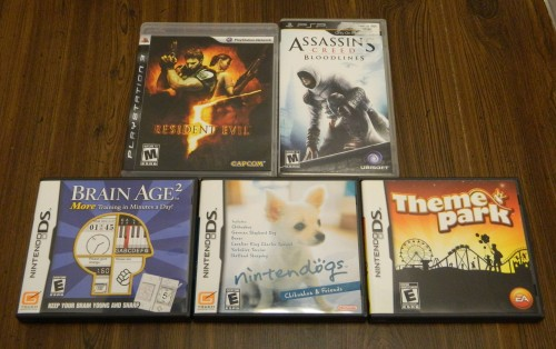 Video Games Thrift Store Haul July 5