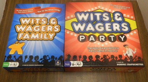 Wits and Wagers Games Thrift Store Haul July 5