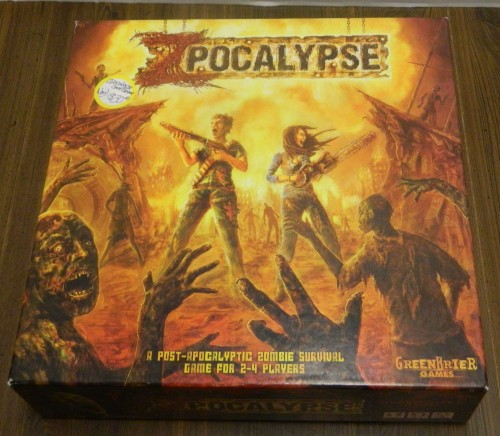 Zpocalypse Board Game Thrift Store Haul July 5