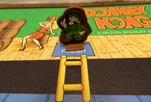 Reaching the Top of Donky Kong game board