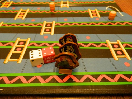 Movement in Donkey Kong board game