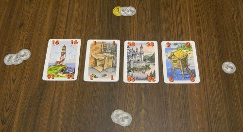For Sale Card Game Buying Properties