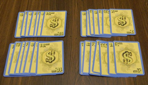 For Sale Card Game Scoring
