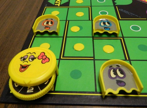 Capturing Ghosts in Ms. Pac-Man Board Game