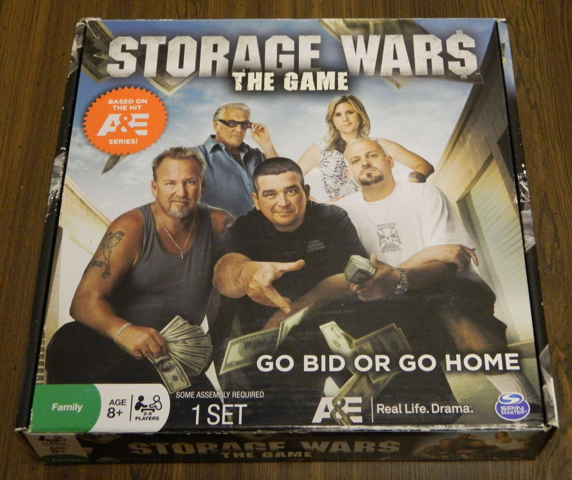 Storage Wars The Game Box