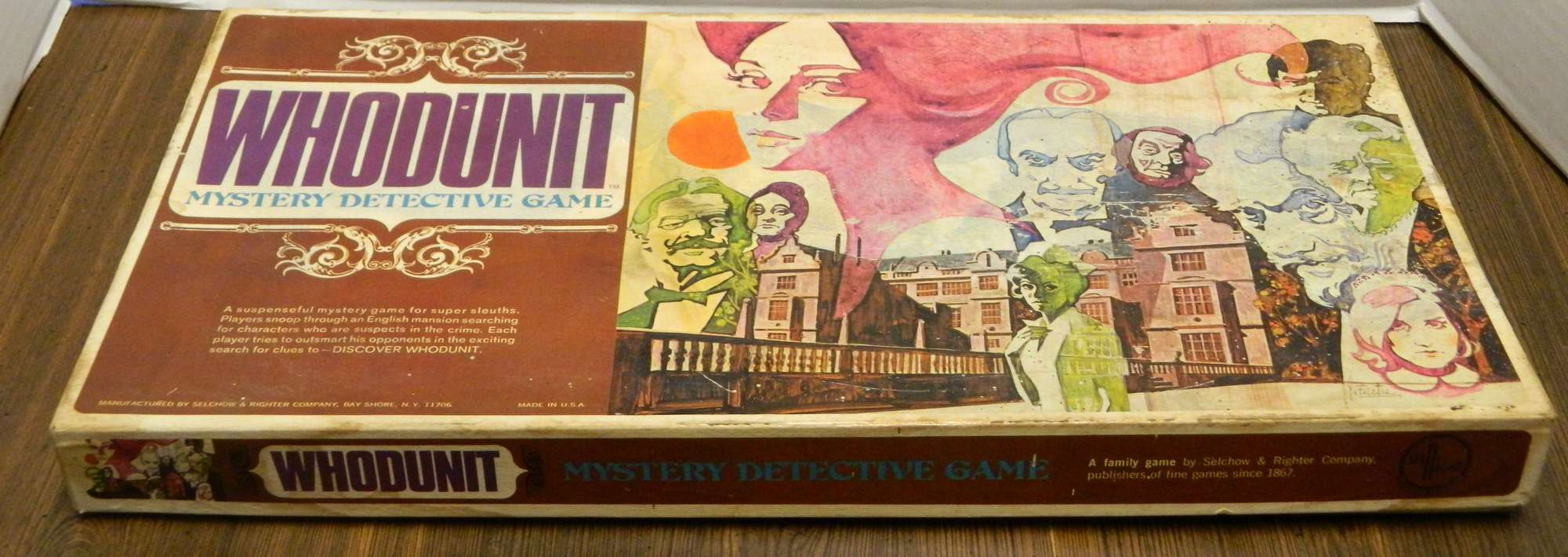 Whodunit Mystery Detective Game (1972) Review and