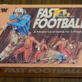 Fast Football Card Game Box