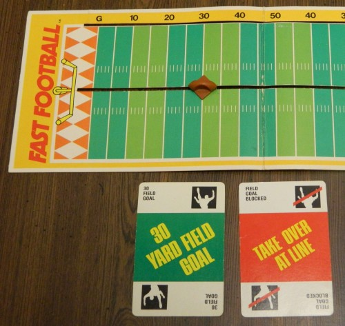 Fast Football Card Game Field Goal