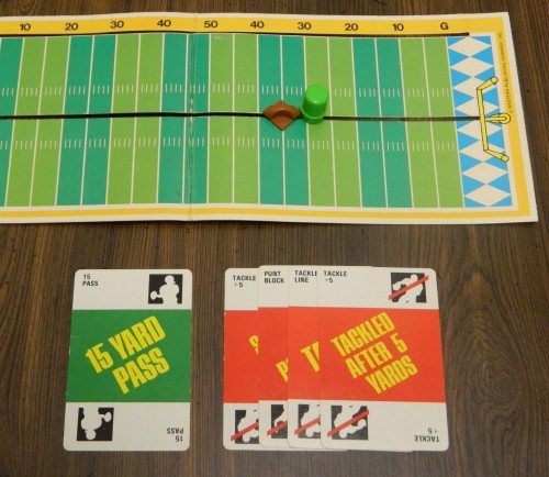 Fast Football Card Game Play