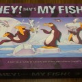 The box for the game Hey! That's My Fish!
