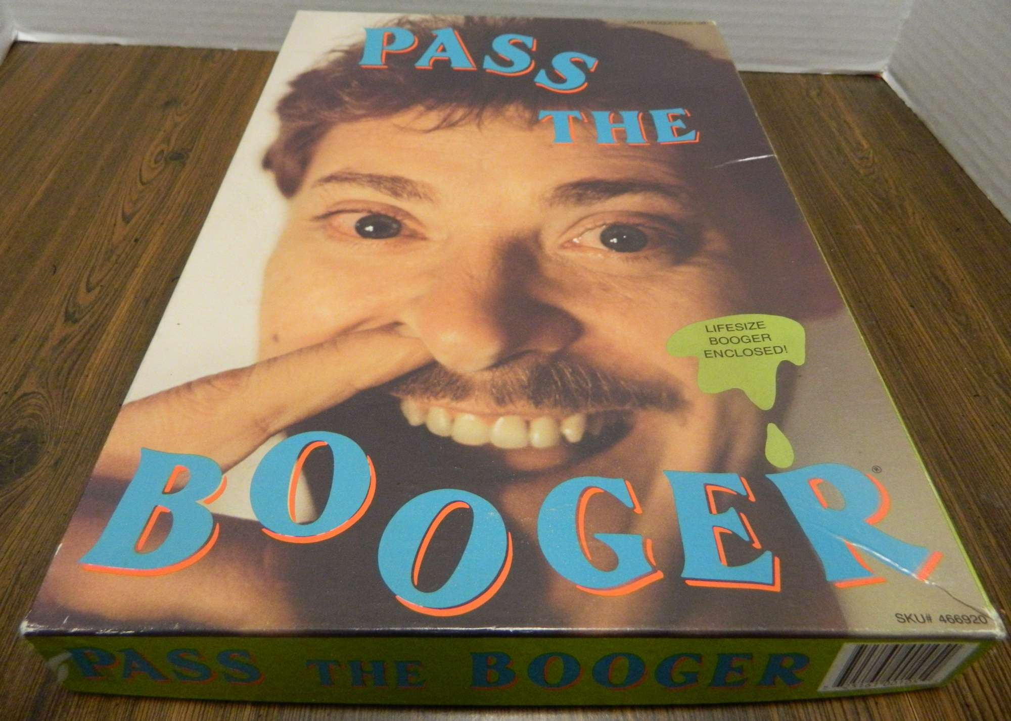 Box for Pass The Booger Game