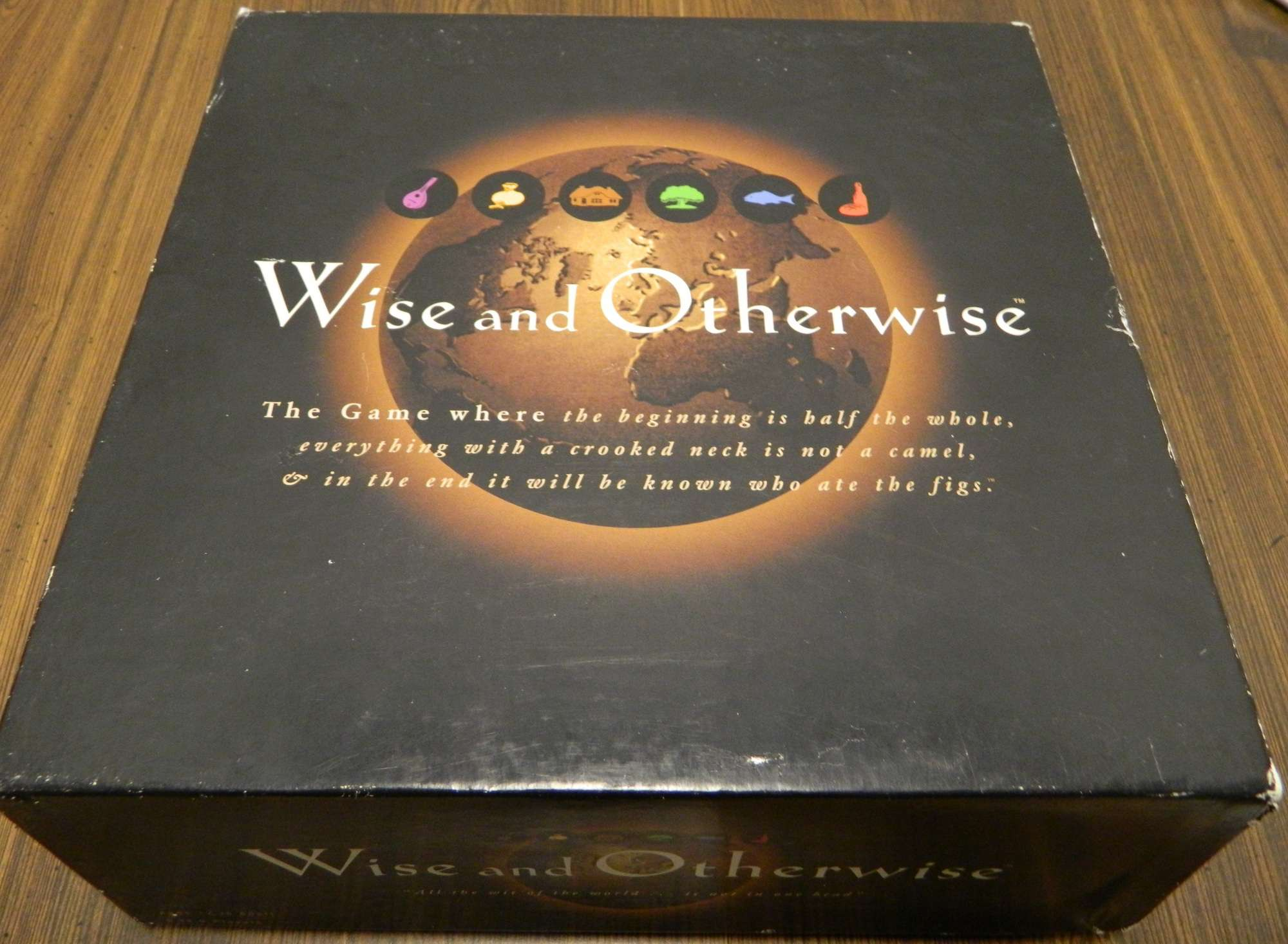 Box for Wise and Otherwsise