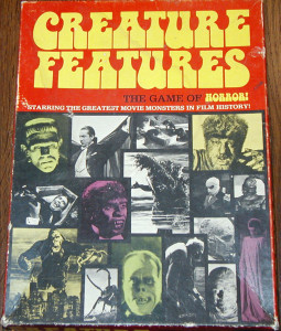 Creature Features Board Game