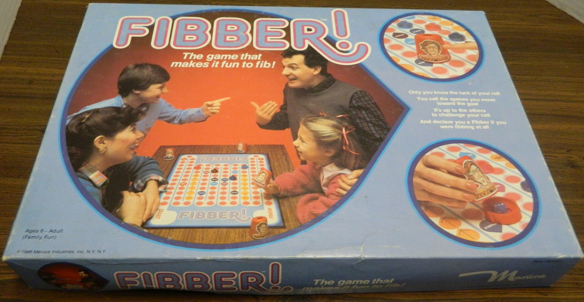 Fibber! Board Game Review and Instructions | Geeky Hobbies