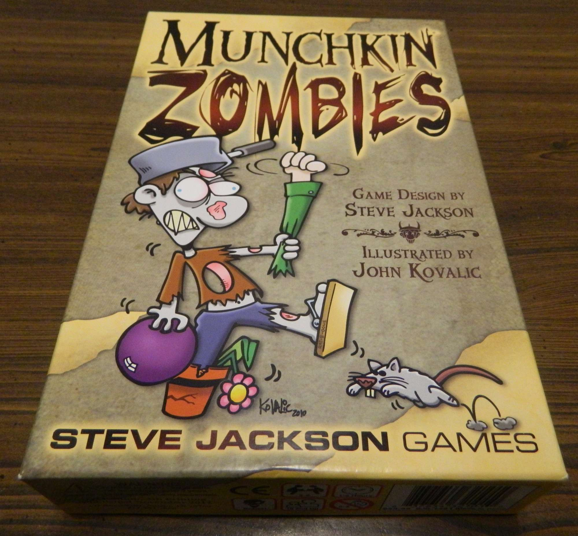 Box for Munchkin Zombies