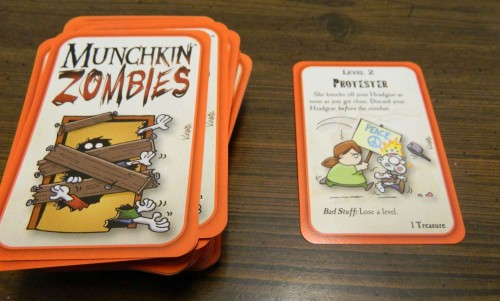 Kicking Open the Door in Munchkin Zombies