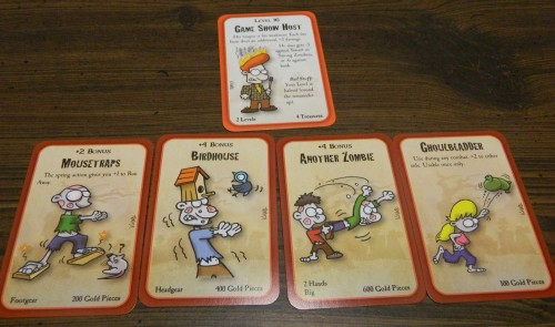 Fighting in Munchkin Zombies