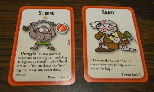 Powers in Munchkin Zombies