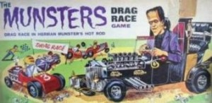 The Box for the Munsters Drag Race Game