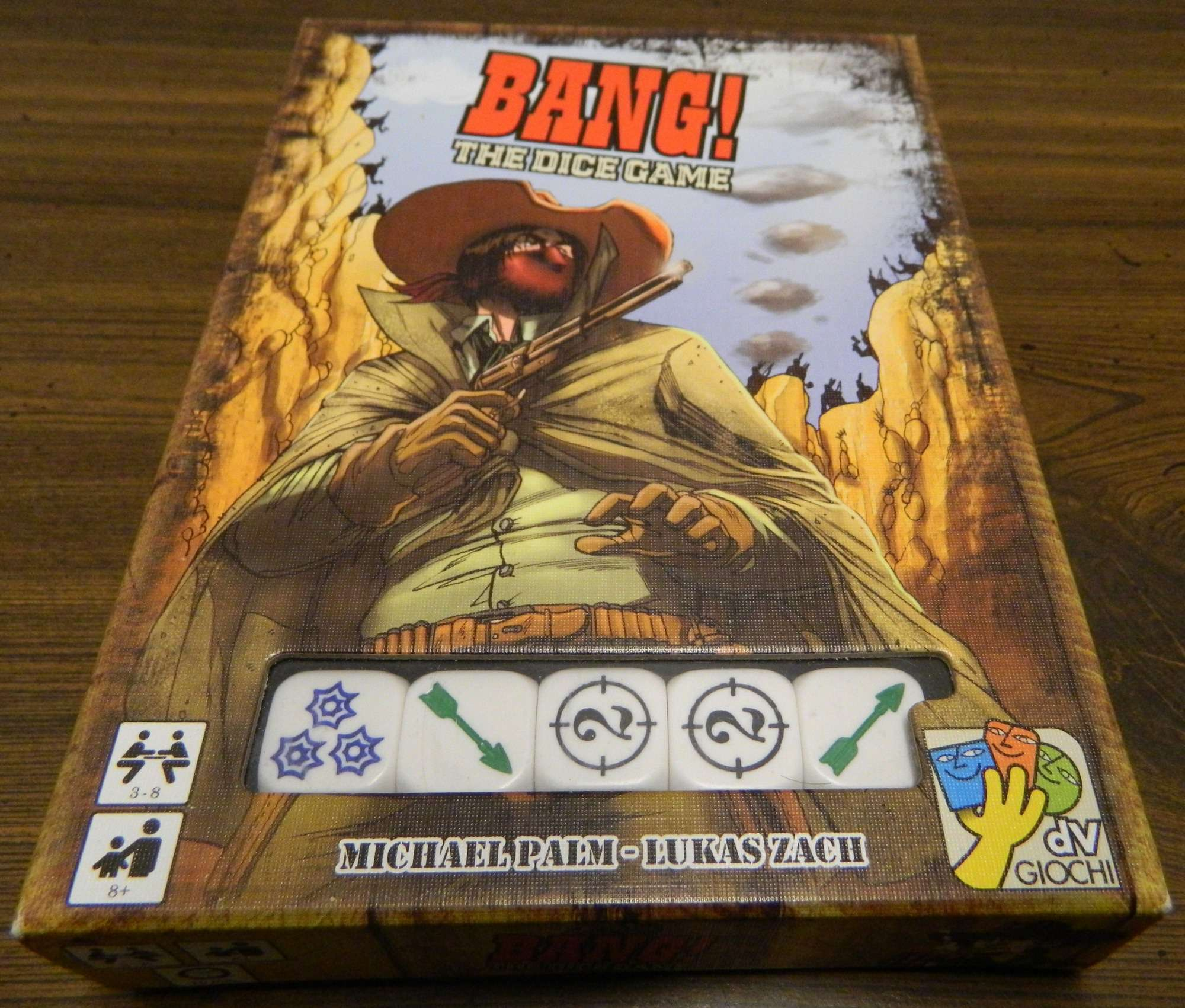 Box for Bang The Dice Game