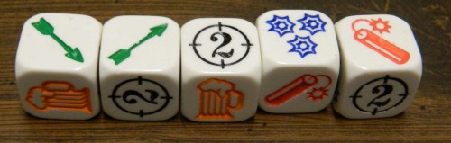 Rolling Arrows in Bang The Dice Game