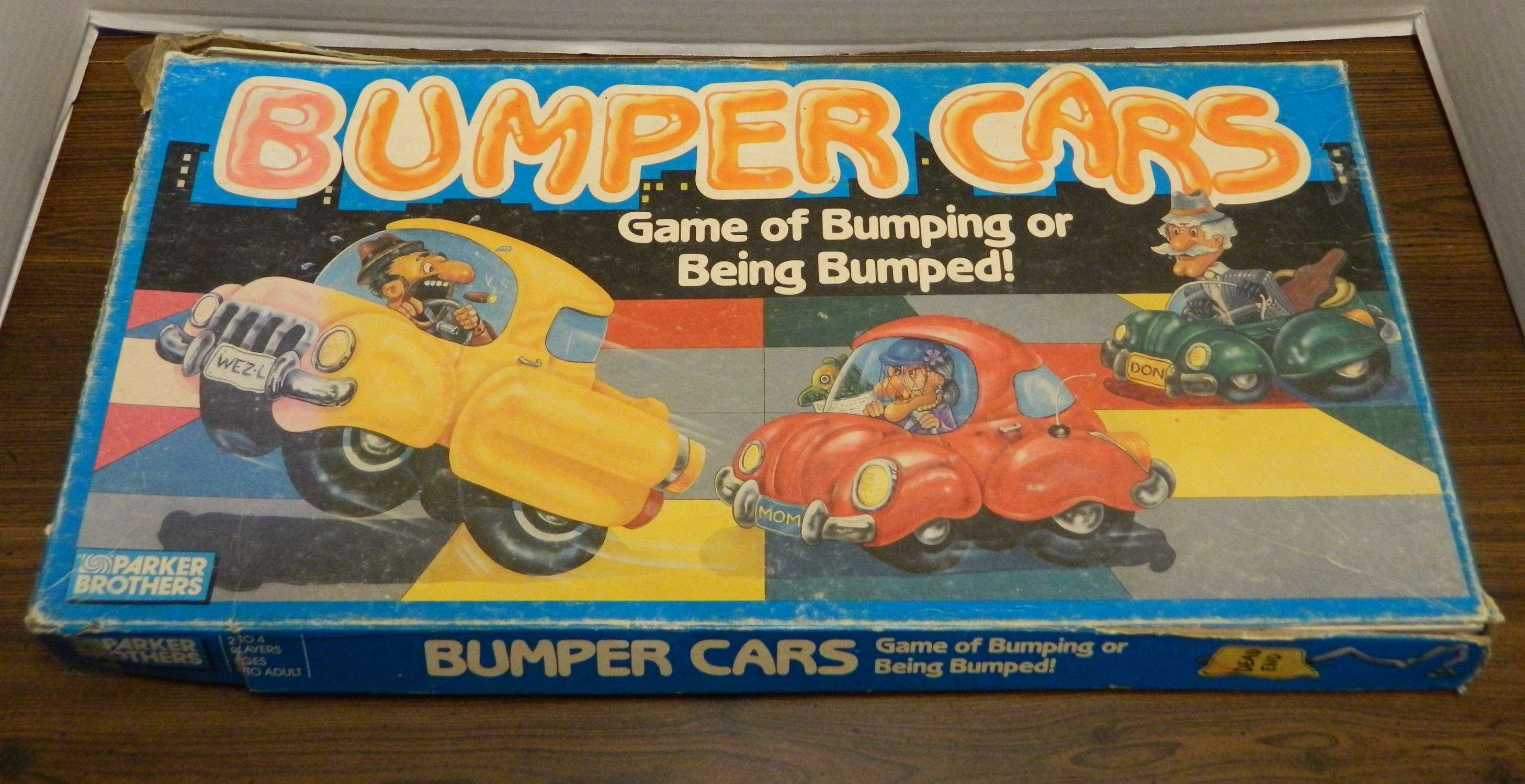 Bumper Cars (aka Sniggle!) Board Game Review and ...