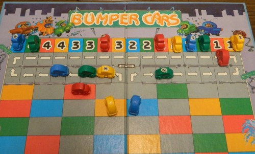 Bumper Cars Board Game Parking Lot Madness