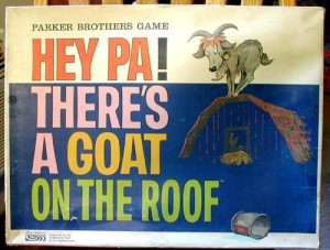 Hey Pa! There's A Goat on the Roof Game