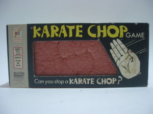 Karate Chop Board Game