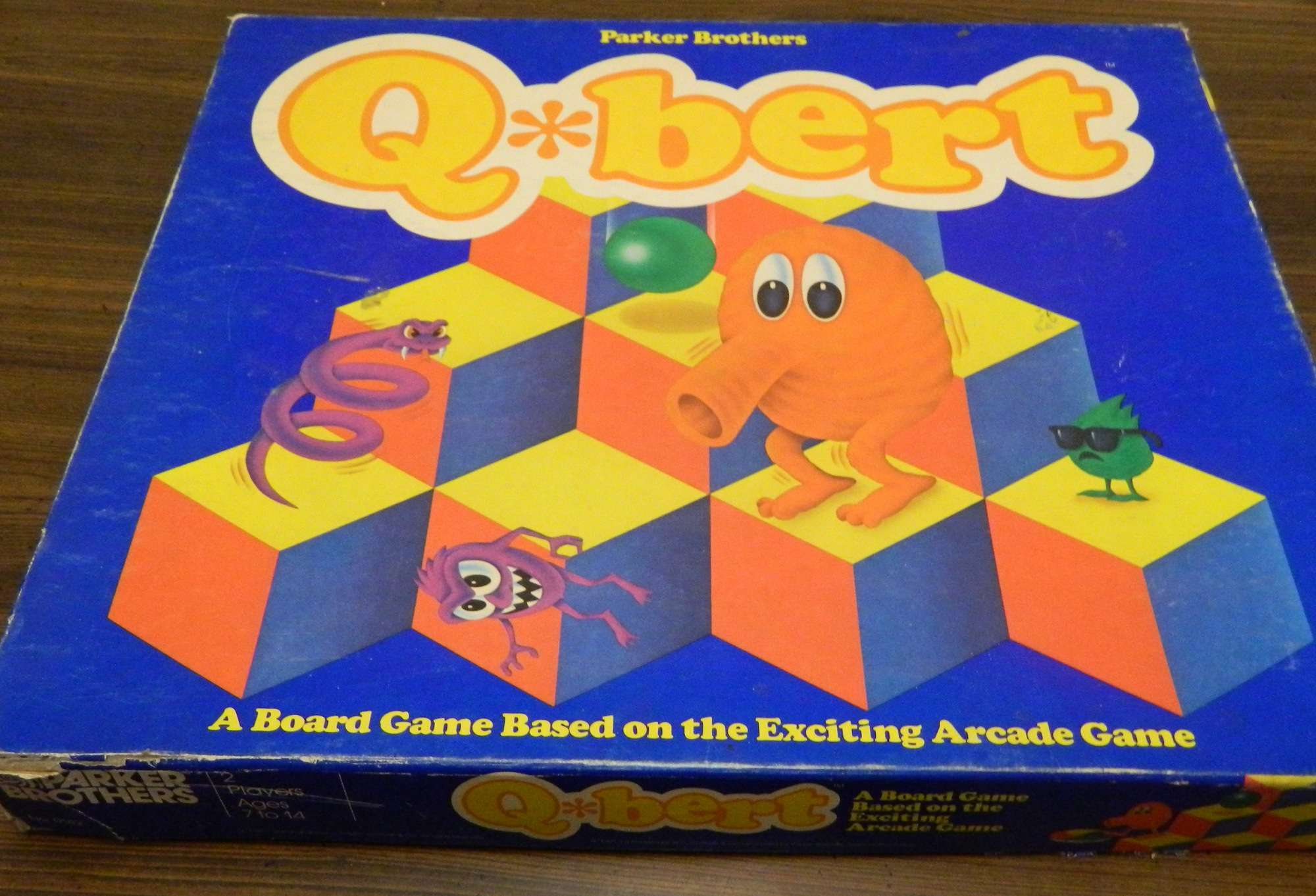 Box for Q*bert Game