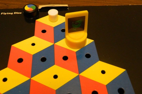 Slick in Q*bert Board Game