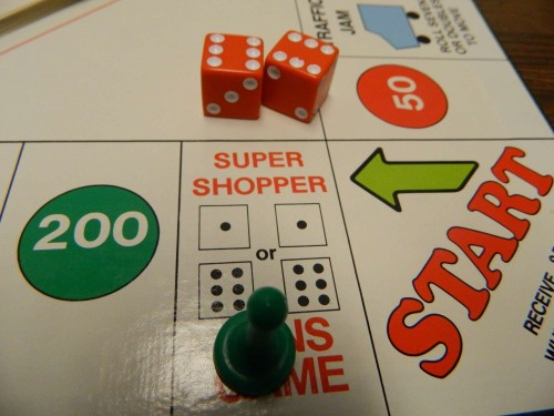 Super Shopper Space in The Christmas Game
