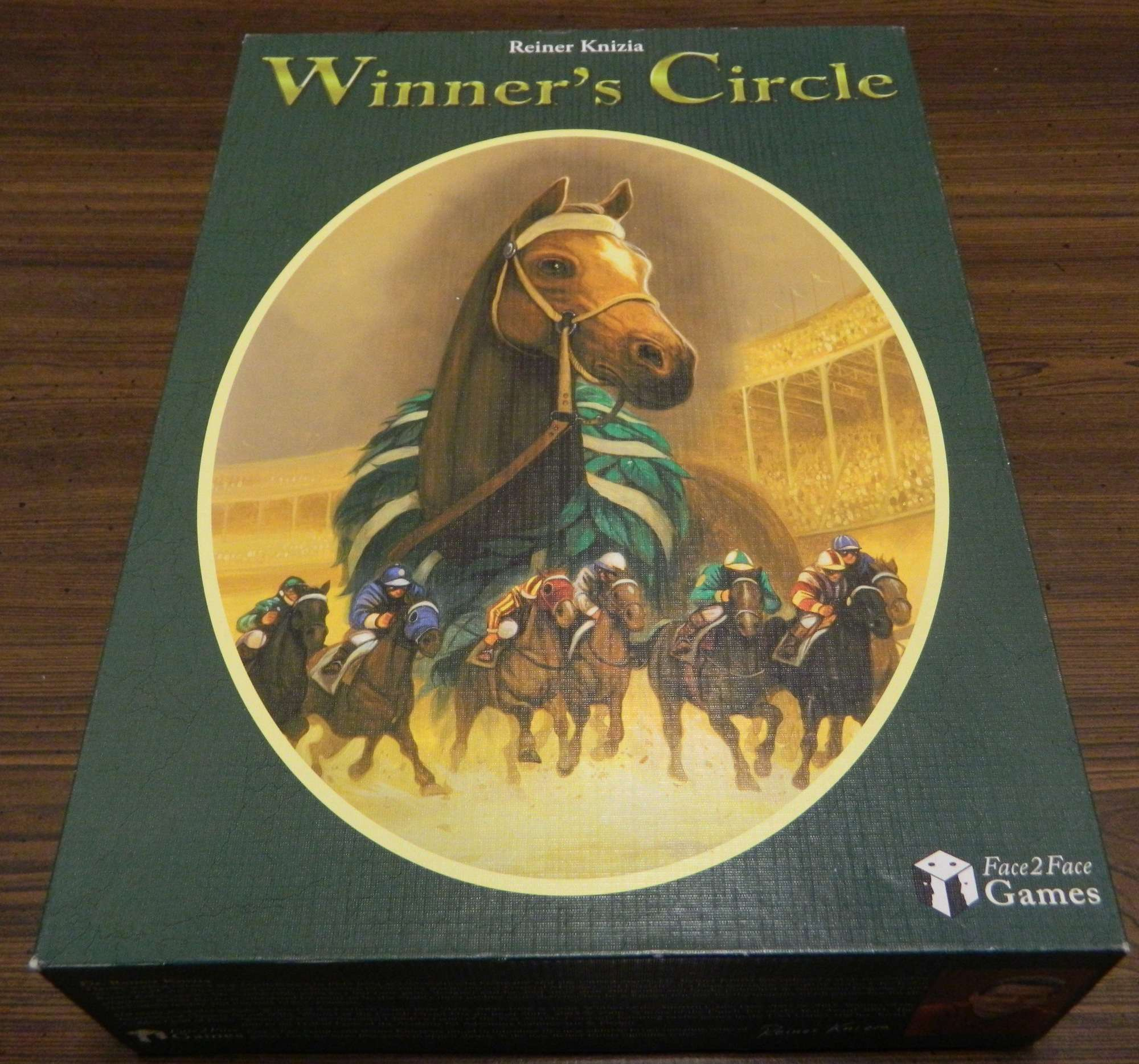 Box for Winner's Circle