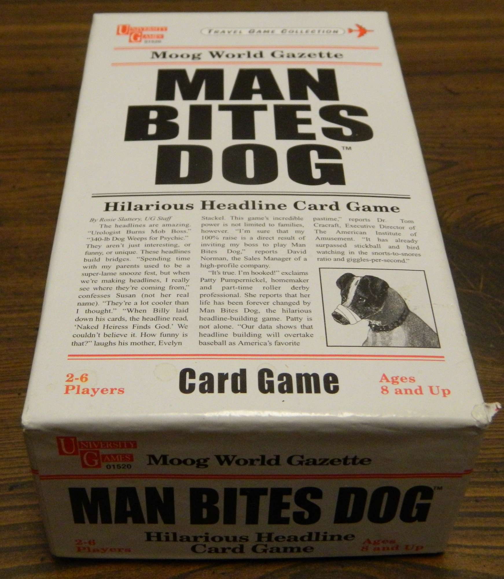 Man Bites Dog Board Game Review and Instructions | Geeky Hobbies