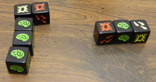 Death in Zombie Dice