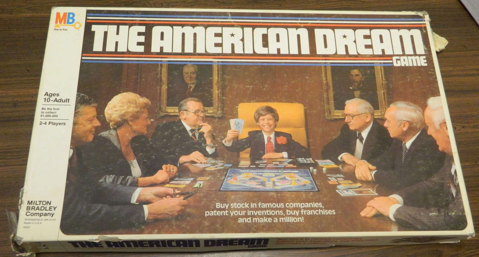 Box for American Dream Game