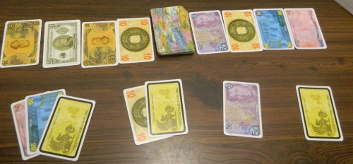 Bidding in Reiner Knizia's Money